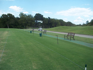 practice facilities at Whitestone Golf Club